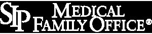 SIP medical family office white logo